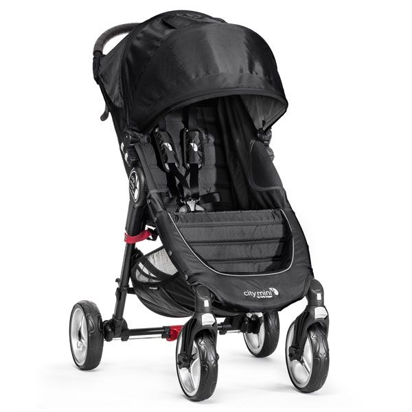 Baby Jogger City Mini 4 Wheeler Black