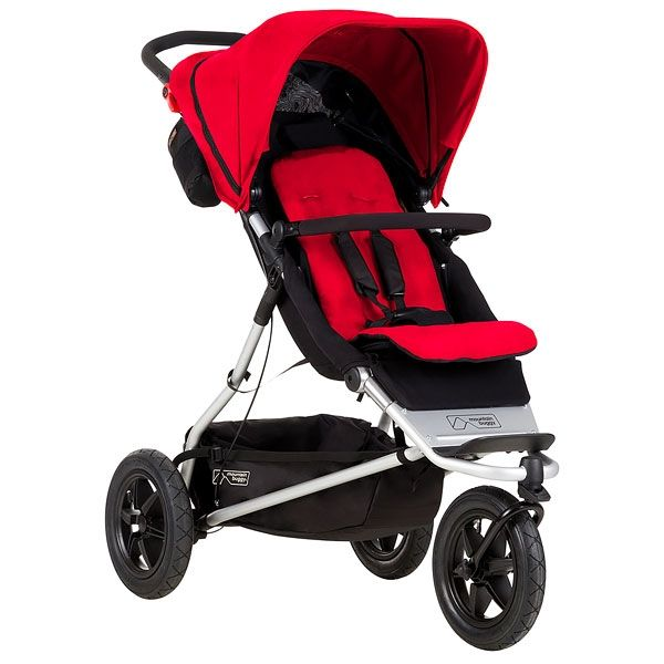 Mountain Buggy Plus One Buggy V3 Berry