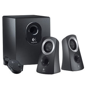 Logitech Speakers 2.1 Z313 Black Stock C