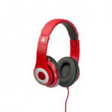 Verbatim Earphones Over-Ear Classic Red
