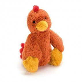 JELLYCAT MEDIUM BASHFUL ROOSTER - H31CM