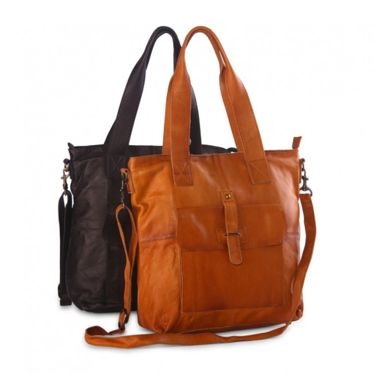 Oran Leather Handbag - Ava