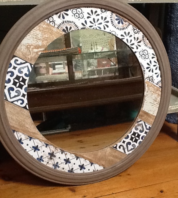 Moroccan Round Mirror