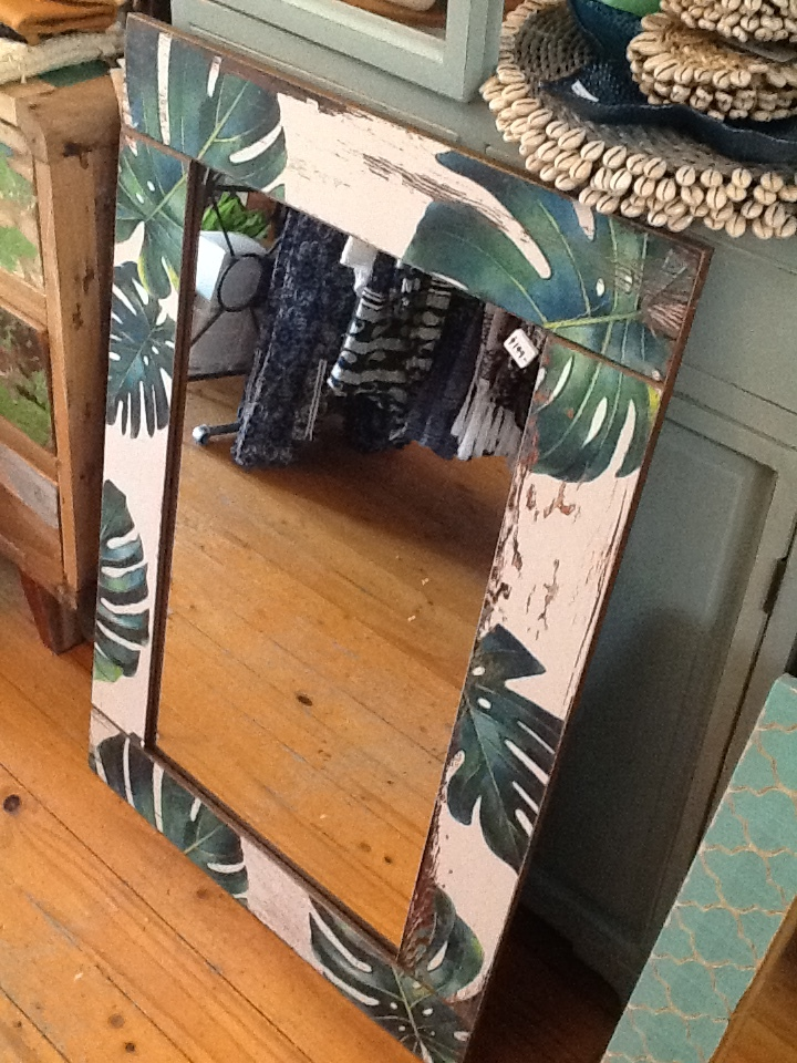 Tropical Jungle Wall Mirror