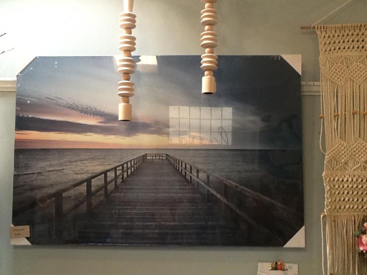 Boardwalk Canvas Wall Art