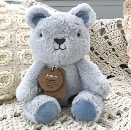 Beau Blue Huggie Bear