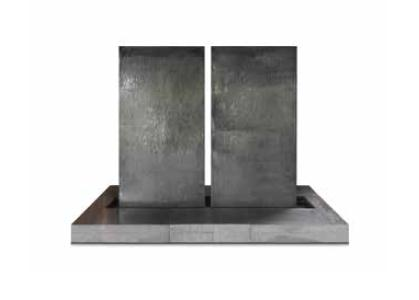 Zinc 'Water Wall' Fountain by Domani