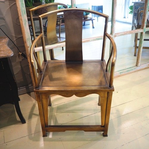 Gold 'Peking' Chair