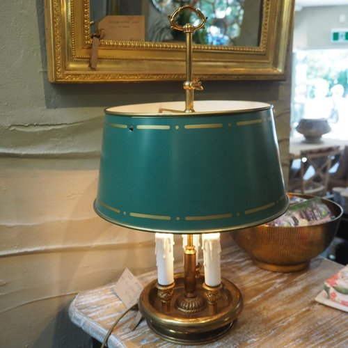 Green Bouillotte Lamp