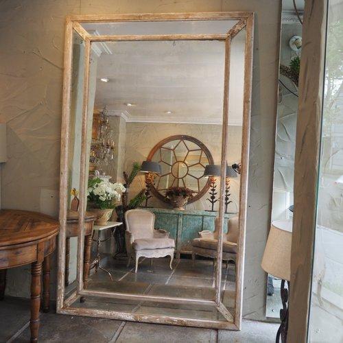 Scandinavian Pine Mirror
