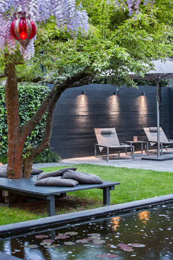 Beamy Outdoor Wall Light by Royal Botani