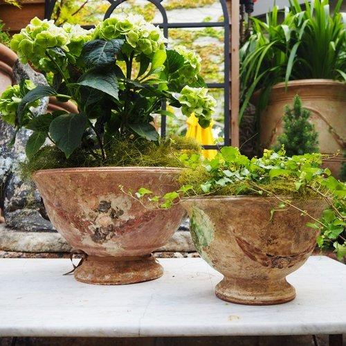 Tuscan Cloche Planters