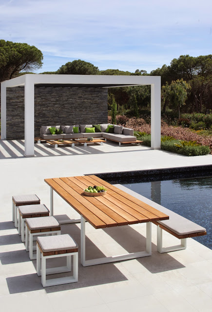 Vigor Outdoor Dining Table by Royal Bota