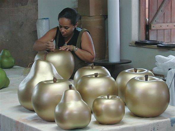Ceramic Apples by Cores De Terra Studio