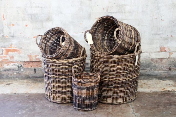 Woven Rattan Baskets