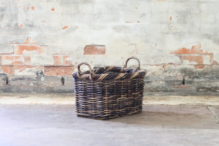 Rectangle Basket Oiled Small
