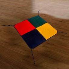 POKANO Square Fabric Baby Playpen & Mat