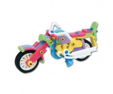 EVA Big Bike Playset | Kids 3D DIY Foam