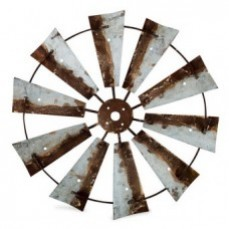 Farmers Market Windmill Wall Hanging