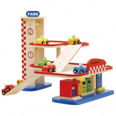 Wooden Garage Toys/ Playset