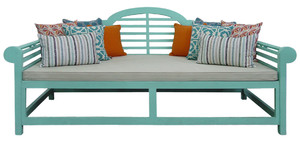 ASHBY Daybed Shabby Chic Blue