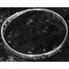 Footprints Silver Bangle- Equilibrium