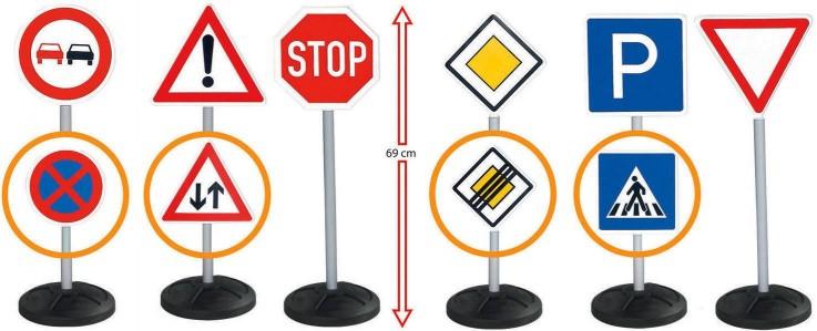 BIG - Kids Mega Road Traffic Sign Set