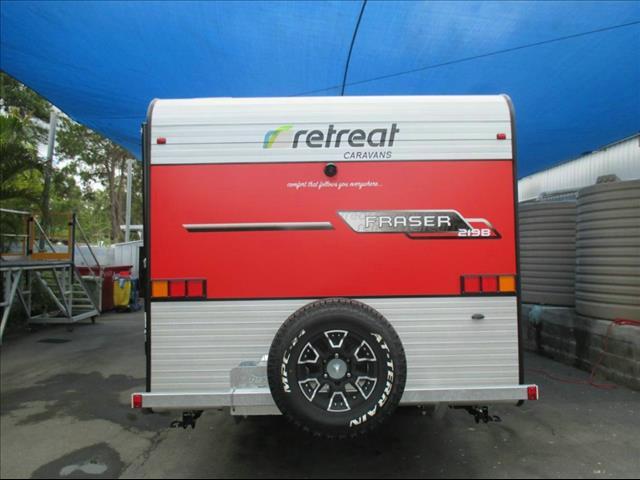 2018 RETREAT FRASER 219B CARAVAN