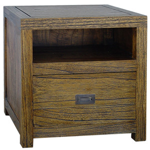 CUBE 1 Drawer - Antique Black