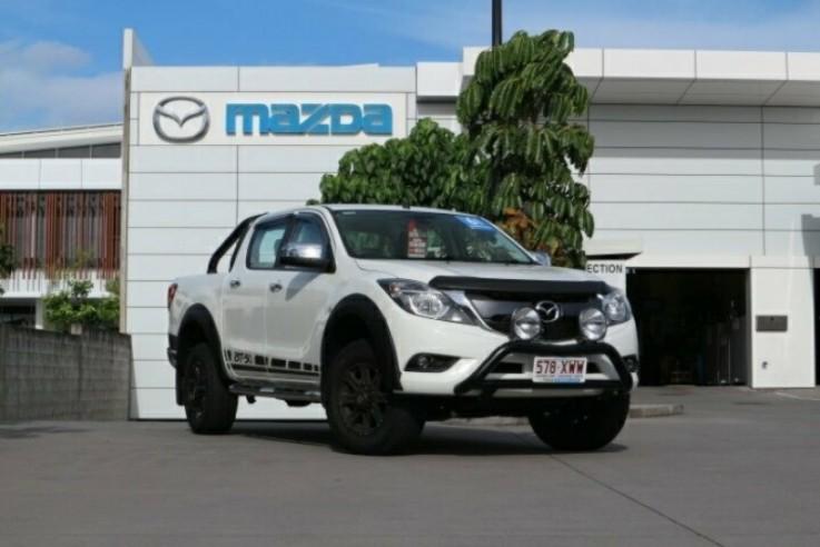 2017 Mazda BT-50 UR0YG1 4x4 Dual Cab