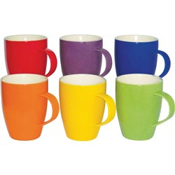 CONNOISSEUR COLOURED MUGS Assorted 300ml