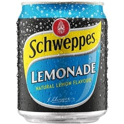 SCHWEPPES LEMONADE 250ml Pack 24