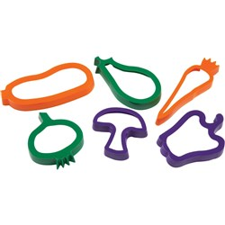 EC COOKIE CUTTERS Vegetables Set6