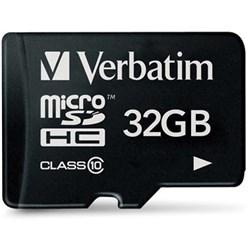 VERBATIM? MICRO SDHC CARDS 32GB (Class 1