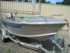 QUINTREX FISHNIPPER OPEN DINGHY 2002 3.5