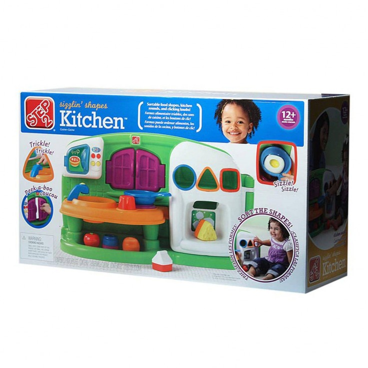 Kids Play Kitchen - Step 2 Sizzling Kitc