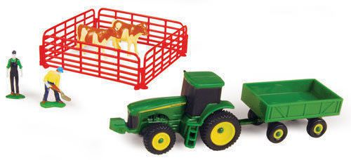 John Deere 10 Piece Mini Farm Set with R