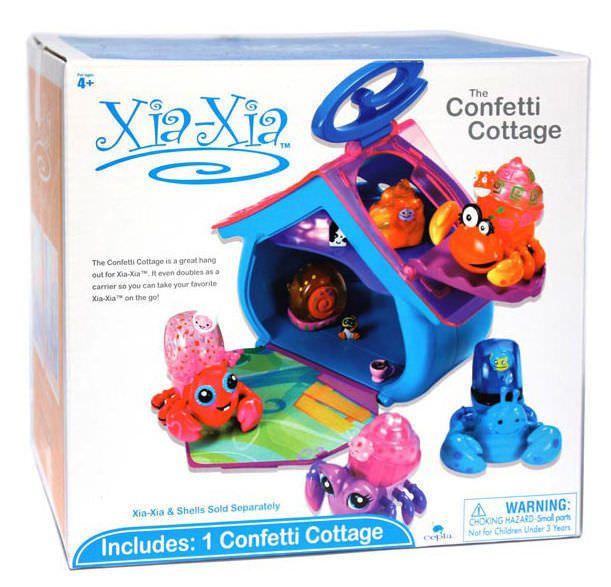 Xia Xia Pets - 'Confetti Cottage' Playse
