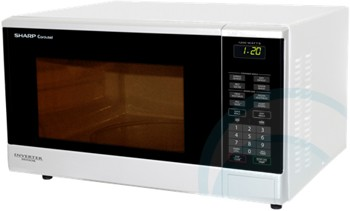 SHARP MICROWAVE R350YW