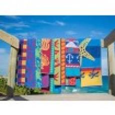 TERRY JACQUARD BEACH TOWELS - VARIOUS DE