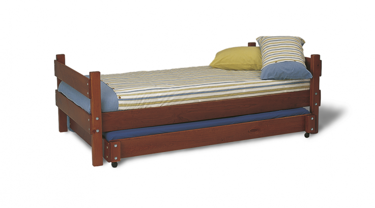 Standard Bed with trundle