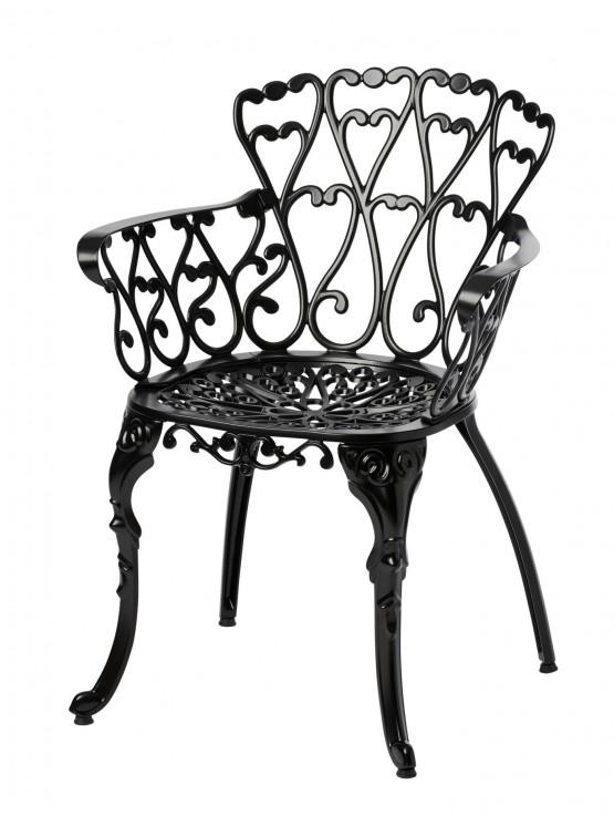 Melton Craft Cast Aluminium Scroll Chair