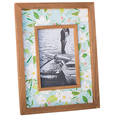 Dwbh Chintz photo frame 4x626.7