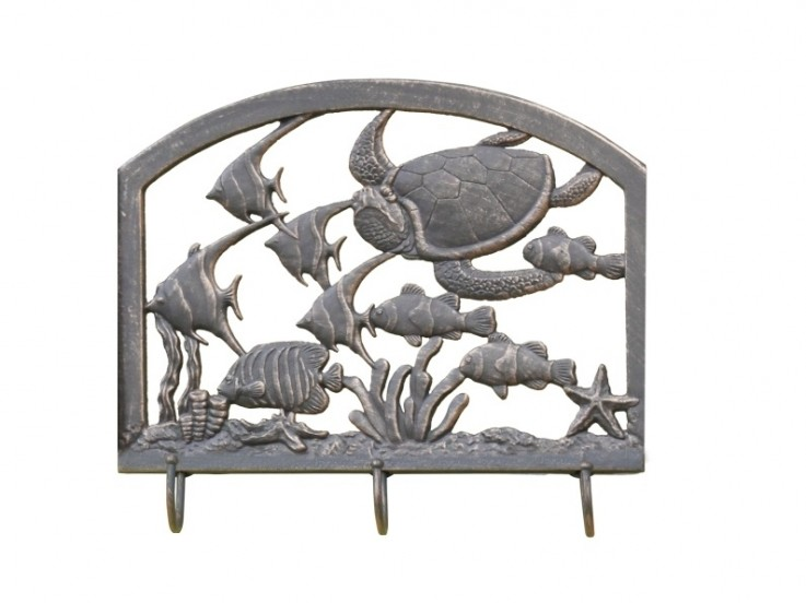 CAST WALL ART / COAT RACK – SEA WORLD