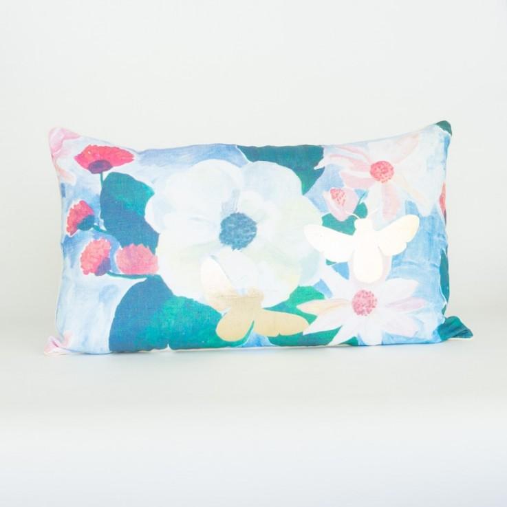 Magnolia bees cushion