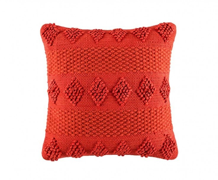 KAS weverly cushion in orange