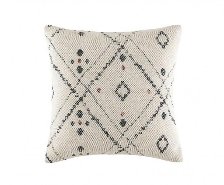 KAS Oko cushion in charcoal