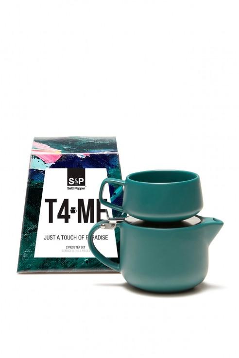 S&P T4-ME Tea set in paradise green