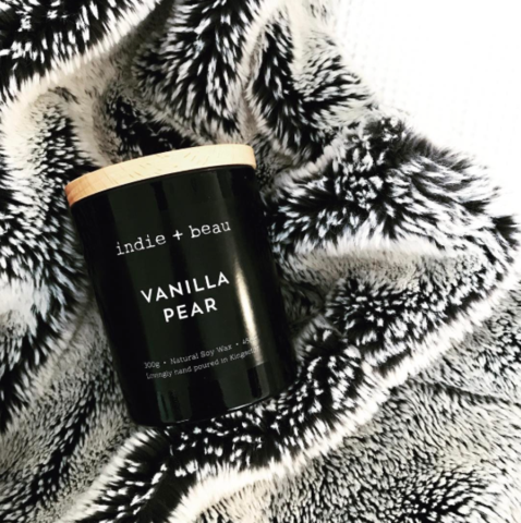 Vanilla & Pear Candle