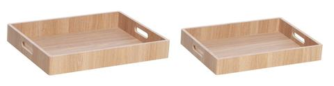 Dudley Veneer Tray Rectangular Set